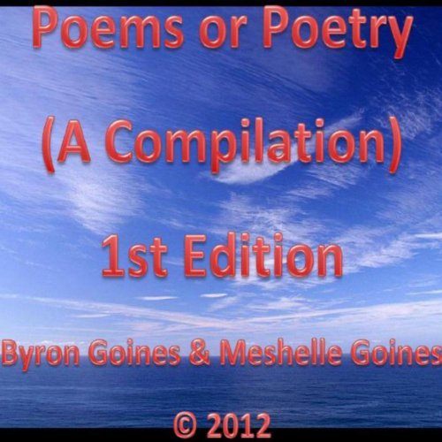 Poems or Poetry: A Compilation audiobook cover art