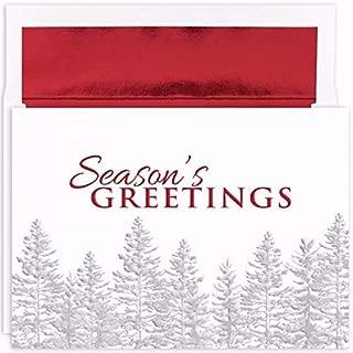 Silver Treeline Masterpiece Studios Boxed Holiday Cards