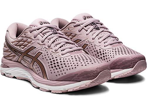ASICS Women's Gel-Cumulus 21 Running Shoes, 9M, Watershed Rose/Rose Gold 2