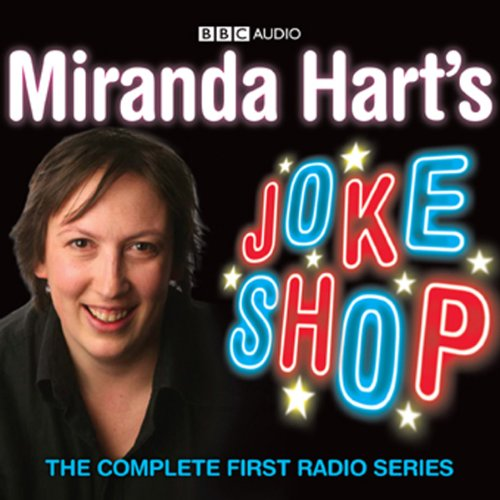 Miranda Hart's Joke Shop audiobook cover art