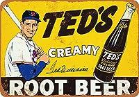 Td's Root Beer メタルポスター壁画ショップ看板ショップ看板表示板金属板ブリキ看板情報防水装飾レストラン日本食料品店カフェ旅行用品誕生日新年クリスマスパーティーギフト