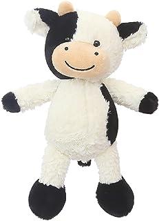 50cm Bambola di Bestiame Simpatico Cartone Animato Animale Sorand Peluche ripieno di Mucca Giocattolo Portatile della Bambola della Bambola del Vitello della Peluche della Mucca del