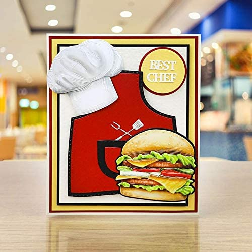 Creative Manufacturer OFFicial shop Cooking Apron with Pocket Cutting Die Seattle Mall Metal Kitchenware