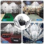 LED-Garage-Light-Tanbaby-Garage-Light-Deformable-E26E27-Three-Leaf-Garage-Lights-6000lm-60W-Tribright-LED-Adjustable-Light-Garage-Lighting-Garage-Light-Bulb-for-Garage-Working-Light-NO-Sensor