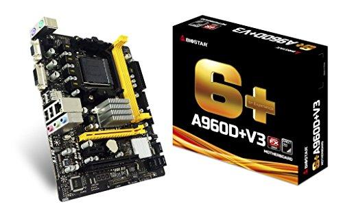 Biostar MB A960D+ V3 (760G, AM3, mATX, DDR3, VGA, AMD)