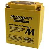 Batteria potenziata MB12U Motobatt = Yuasa: YB12AA; YB12AAS; YB12AAWS