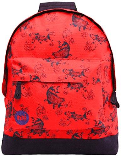 Mi-Pac Collection Eloise Roberts Koi Rucksack, Rot glänzend