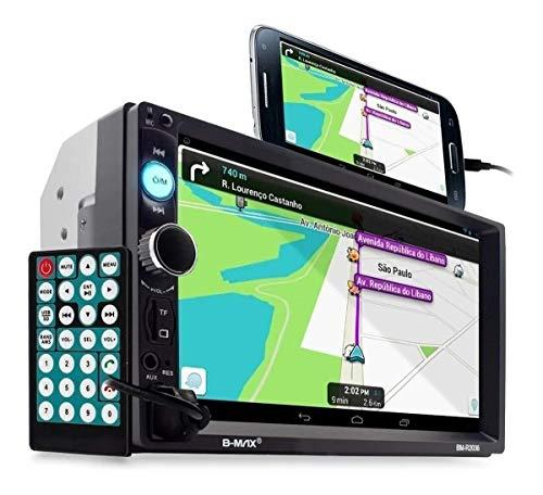 Central Multimidia Android e Ios Espelhamento Som Similar Pioneer Bluetooth