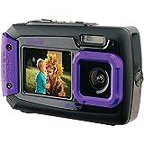 Coleman 2V9wp-p 20.0-megapixel duo2dual-screen防水デジタルカメラ(パープル)
