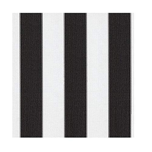 black and white outdoor fabric - 1