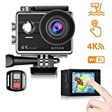 Action Cam 4k WiFi Unterwasser Kamera 16MP Ultra HD Touchscreen Sports Camera 30M Wasserdicht...