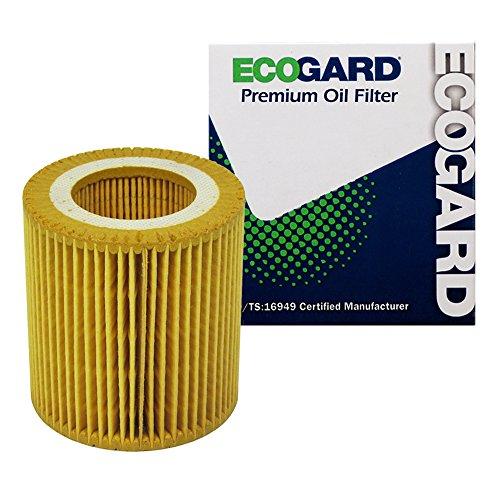 ECOGARD X5607 Premium Cartridge Engine Oil Filter for Conventional Oil Fits BMW X5 3.0L 2007-2018, 328i 3.0L 2007-2013, X3 2.0L 2013-2017, X3 3.0L 2007-2017, 335i 3.0L 2007-2015, 535i 3.0L 2008-2016