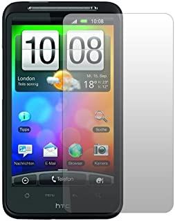Slabo 2 x skärmskydd HTC Desire HD skärmskydd skyddsfolie No Reflection | Ingen reflektion HTC DesireHD Made IN Germany