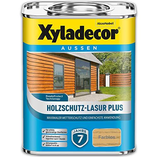XYLADECOR Holzschutz-Lasur Plus Farblos 4l - 5362541