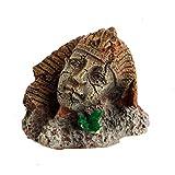 JONJUMP Adorno de acuario para decoración de pecera de la esfinge antigua egipcia