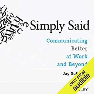 Simply Said audiobook cover art