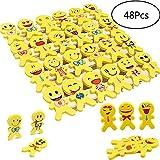 YueChen Emoji Emoticon lápiz Gomas borrar Lindos , Regalo de Regalo para la Fiesta de cumpleaños Fiesta de los niños...