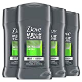 Dove Men+Care Antiperspirant Deodorant With 48-hour sweat and odor protection Extra Fresh Antiperspirant for men formulated with vitamin E and Triple Action Moisturizer | 2.7 Ounce (Pack of 4)
