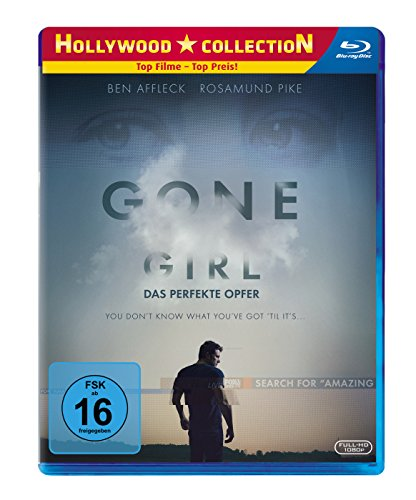 Gone Girl - Das perfekte Opfer  (inkl. Digital HD Ultraviolet) [Blu-ray]