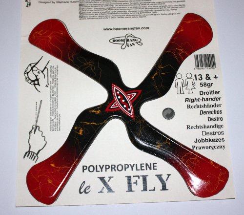 BoomerangFan Bumerang X-Fly R - Rechtshänderbumerang