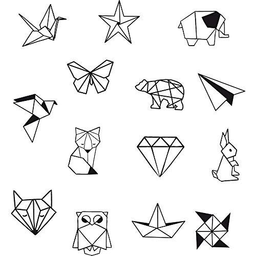 Aladine 85004 Stampo Vorratsglas Origami