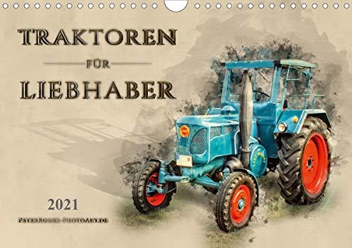 Traktoren für Liebhaber (Wandkalender 2021 DIN A4 quer)