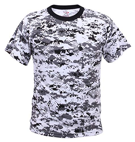 Rothco Digital Camo T-Shirt, L, City Digital Camo