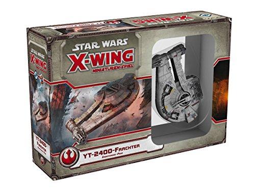 Asmodee HEI0422 - Star Wars X-Wing - YT-2400 Frachter, Erweiterung-Pack
