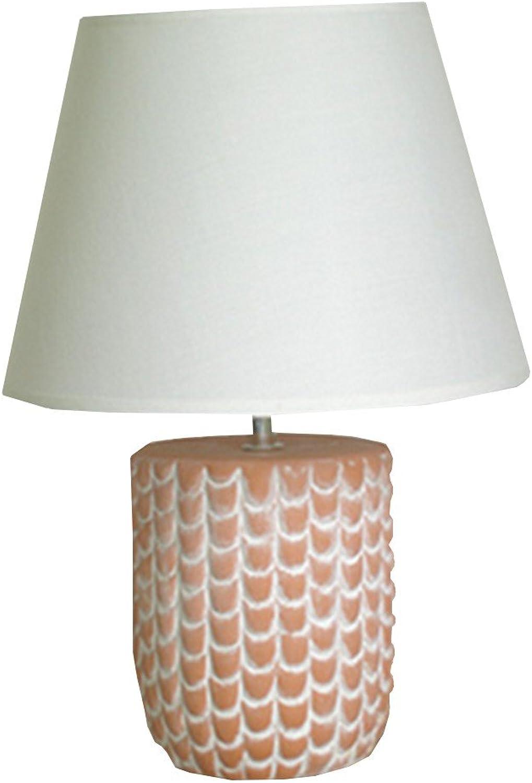Inconnu Tischleuchte, Nachttischlampe aus Keramik Terra Terra Terra Cotta, M4 B00YAZG4G0  | Erste Qualität  003c33