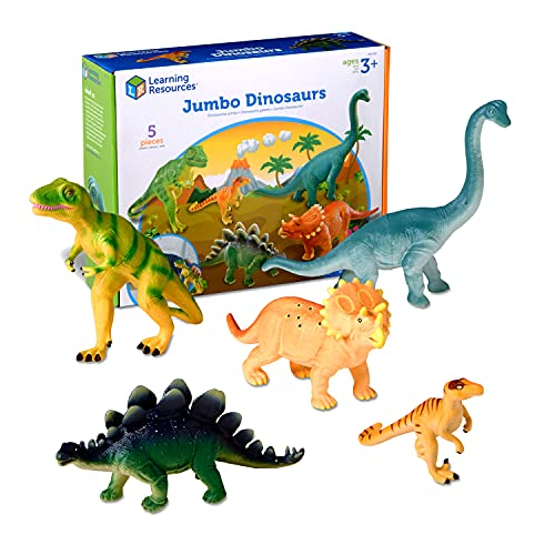 Top 10 best selling list for learning resources jumbo dinosaurs