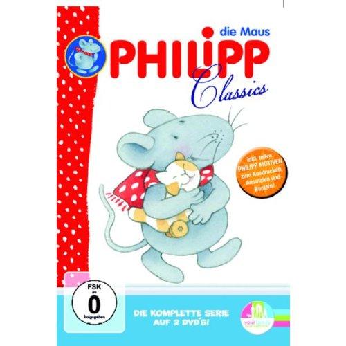Philipp, die Maus - Die komplette Serie [2 DVDs]