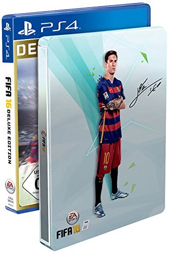 FIFA 16 - Deluxe Edition inkl. Steelbook (exkl. bei Amazon.de) - [PlayStation 4]