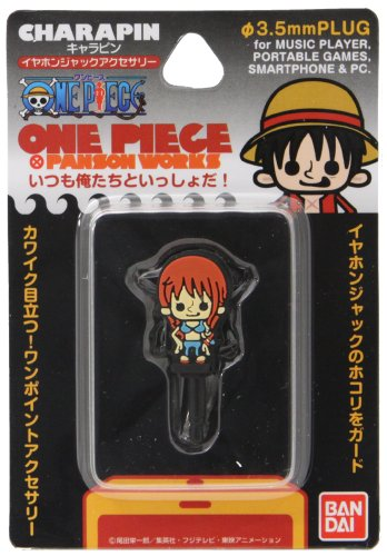 One Piece Characters Charapin Earphone Jack Accessory (New World/Nami)