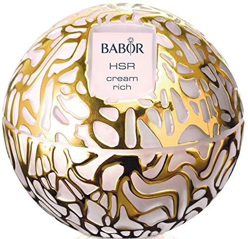 BABOR HSR Extra Firming Cream rich, luxuriöse, reichhaltige Anti-Falten Creme, für trockene Haut, gegen Mimik- und Gravitationsfalten, 1 x 50 ml