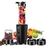 Bullet Blender for smoothies and shakes ,blender for kitchen with 20oz Blender Bottle and Lid, 6oz...
