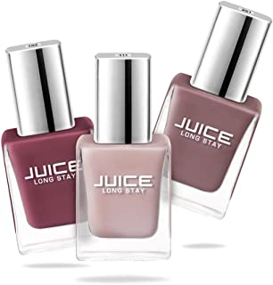 Juice Nail Polish Pack of 3 Sun Kissed/Dusty Coral/Camel NUDE COMBO_27