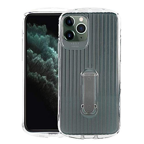 iPhone 11 Coque Case TPU Housse de Protection Antichoc à Double Couche pour l'Ensemble du matériel Design Ultra-Mince Plastique Robuste Durable Case pour iPhone 11 (transparent)