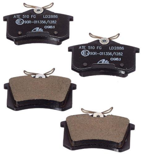 Preisvergleich Produktbild ATE 13047028862 Bremsbelagsatz,  Scheibenbremse ATE Ceramic