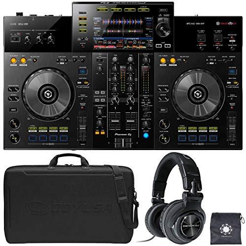 Fantastic Deal! Pioneer XDJ-RR Rekordbox Pro DJ Controller System w Case+Denon HP1100 Headphone