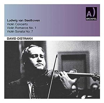 Beethoven: Violin Concerto in D Major, Op. 61 & Violin Sonata No. 7 in C Minor, Op. 30 No. 2 (Live)