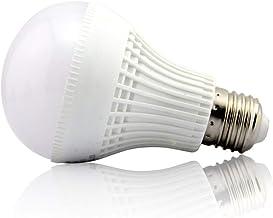 5V 6V Screw Medium Base LED Light Bulb for 5-6 Volt Battery Power Source Cool White 6000K DIY Project Bike Bicycle Go Kart...