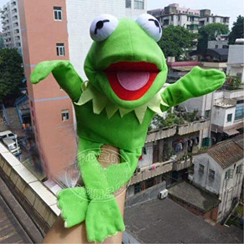 Miklan FidgetGear Muppets Most Wanted Show Kermit The Frog Plush Doll Hand Puppet Toy Gift