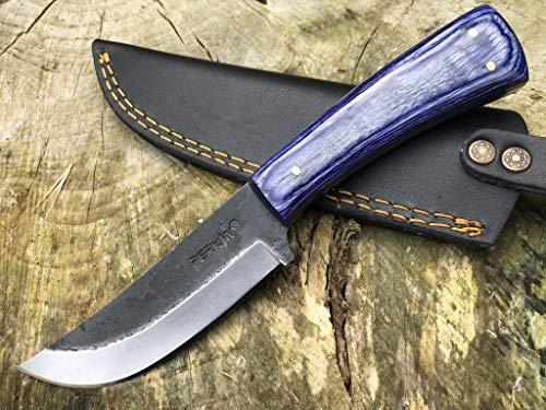 Perkin PK850 Hunting Knife with Sheath Fix Blade Knife with Sheath
