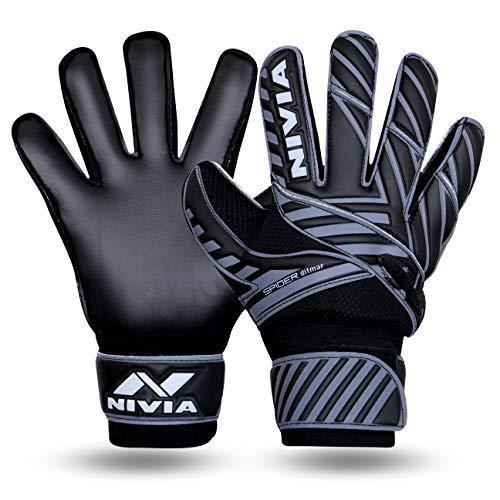 NIVIA Spider F.B G/Keeper Gloves Medium Black