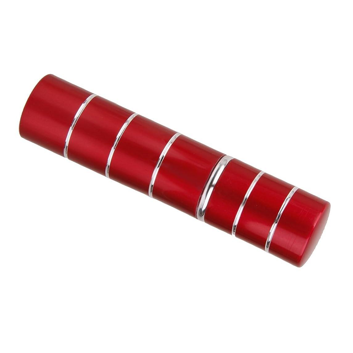 同化する認証結核Dovewill  旅行携帯用 ポータブル 軽量 詰め替え 香水 アトマイザーボトル ポンプ スプレーケース  - レッド