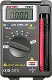 Multímetro Digital Multímetro digital de bolsillo Digital Multi Tester - Voltaje de corriente alterna DC Resistencia de corriente continua LCD retroiluminación (VC921)