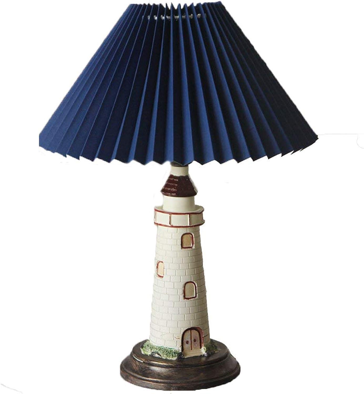 Unbekannt XQQQ - Mediterranean Countryside Countryside American Schlafzimmer Studie Kinderzimmer Jungen Zimmer Bedside Lighthouse Tischlampen B07DWTGG3F     | Am praktischsten