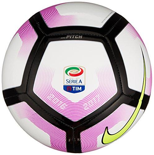 Nike Pitch-Serie A, Pallone Unisex-Adulto, Bianco, 5