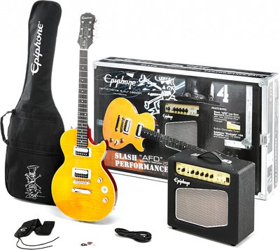 "'Epiphone by Gibson Slash ""AFD Les Paul Special de II Performance Pack - Guitarra & Amplificador Set"