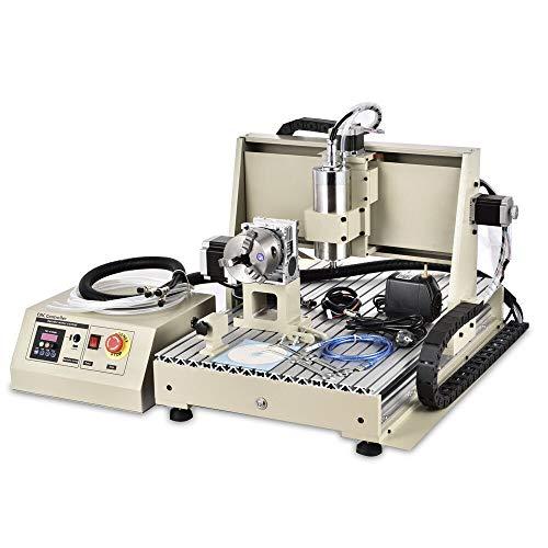 4 Achse Graviermaschine USB 6040 CNC Fräsmaschine Router Engraver 1.5KW VFD NEU